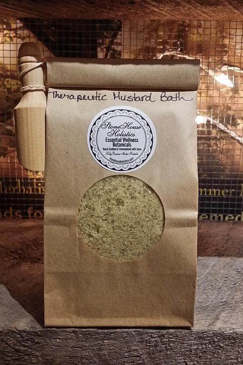 Therapeutic Mustard Bath