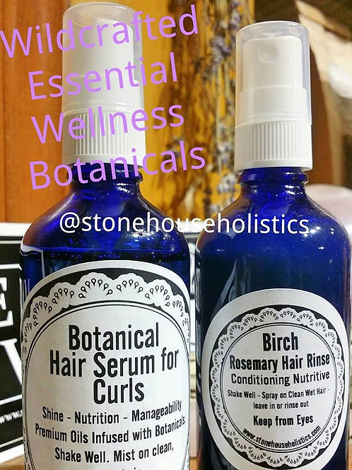 Botanical Hair Serum for Curls