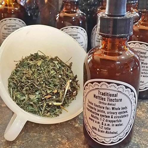 Nettle Tincture ~ Wildharvested