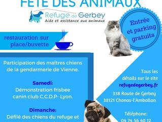 FÊTE DES ANIMAUX 7 et 8 Octobre