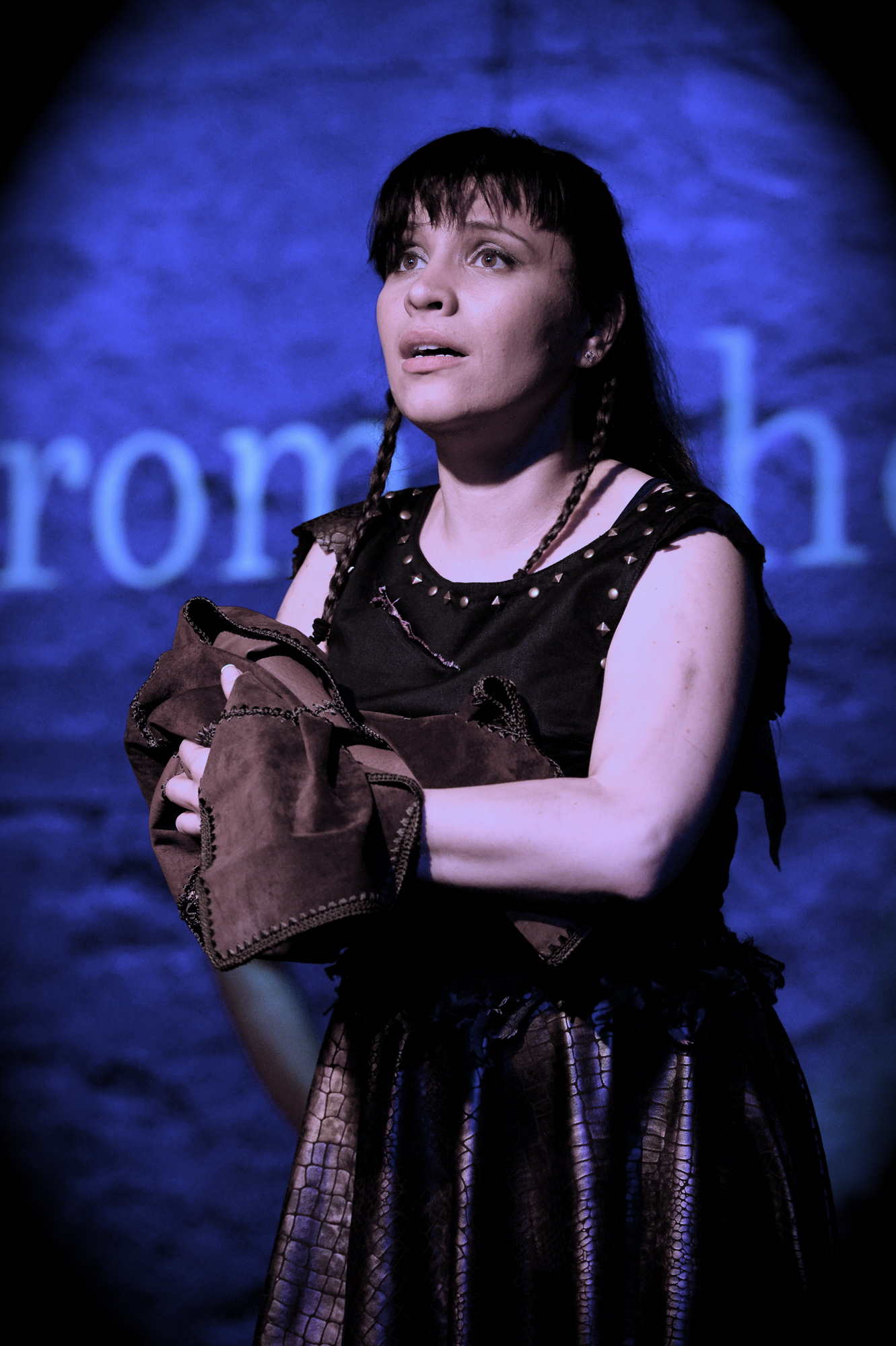 CASSANDRA in TROJAN WOMEN