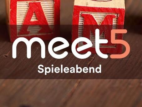 Spieleabende bei Meet5! 🤹🪀😋