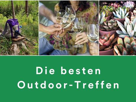 Die besten Outdoor-Treffen in und um Zürich