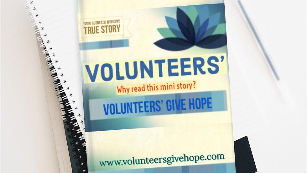 (VGH) outreach Journal - Line Ruled