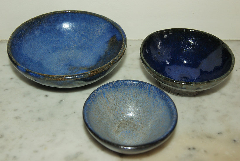 Coupelles en céramique