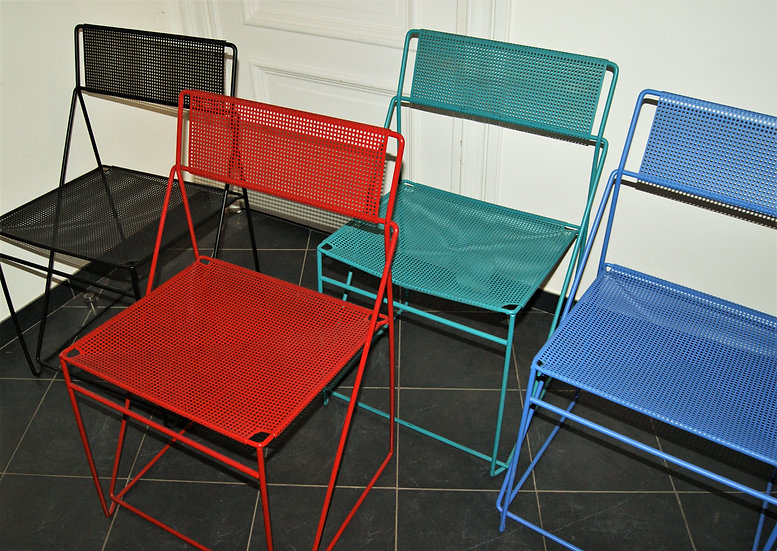 Chaises X Line de Niels Jorgen Haugessen