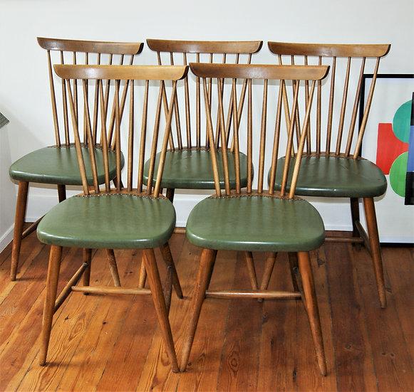 Lot de 5 chaises bistrot