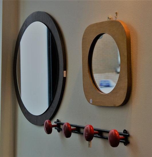 Miroirs contour en bois