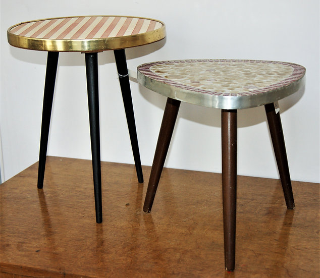 Tables d'appoint tripodes