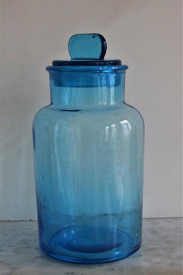 Grand bocal bleu