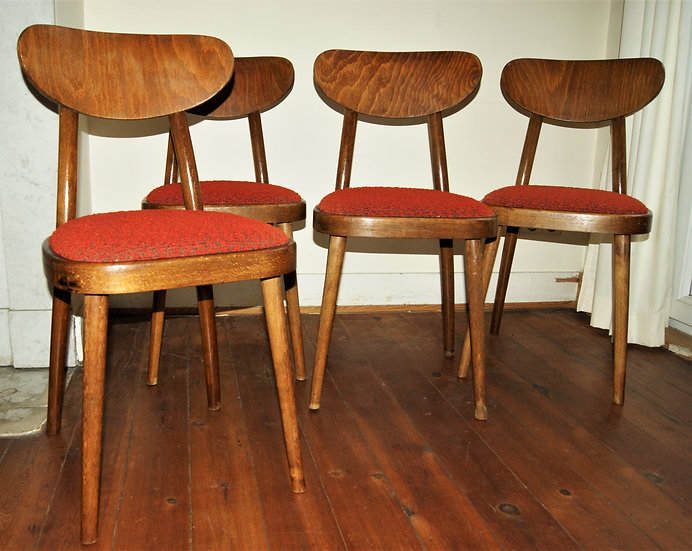 Lot de 4 chaises Miroslav Navratil