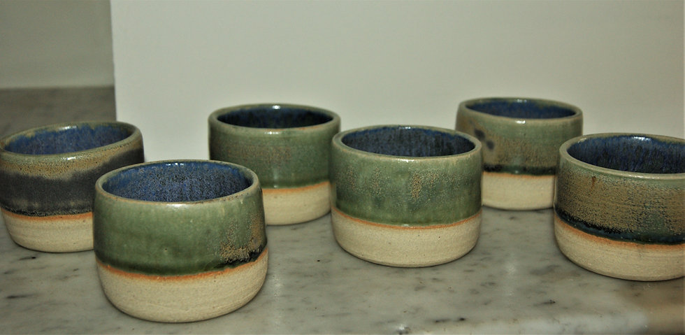Bols à thé en céramique