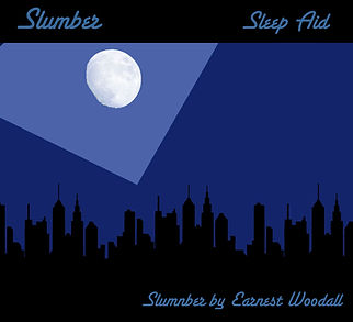 "Slumber Sleep Aid by Earnest Woodall ""Carefully designed HOLISTIC MUSIC to help slow the heart rate, reduce blood pressure and lower levels of the stress hormone cortisol to help you sleep and get a good nights rest"""