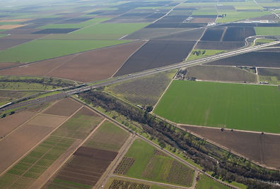 Yolo County Arial View