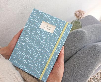 Cuaderno mensaje / Gotas