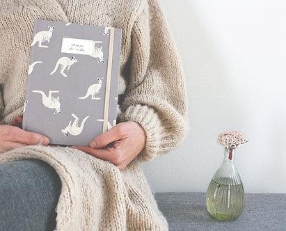 Cuaderno mensaje / Canguros