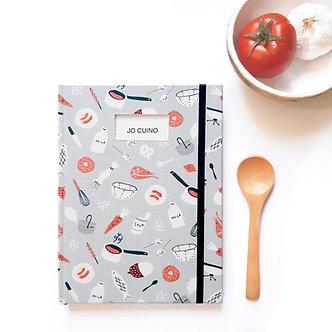 Cuaderno de Cocina / Gris
