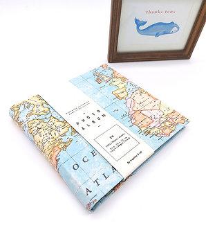 Album de Fotos Pequeño - Mapa mundi