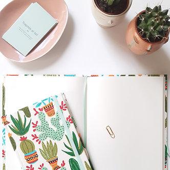 Cuaderno A6 / A5  Cactus
