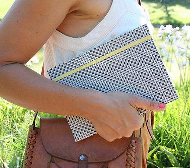 Cuaderno / Flores blancas & negras