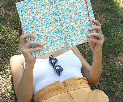 Cuaderno A5 / A6  Flores pequeñas