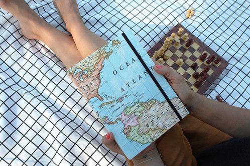 Cuaderno / Mapamundi