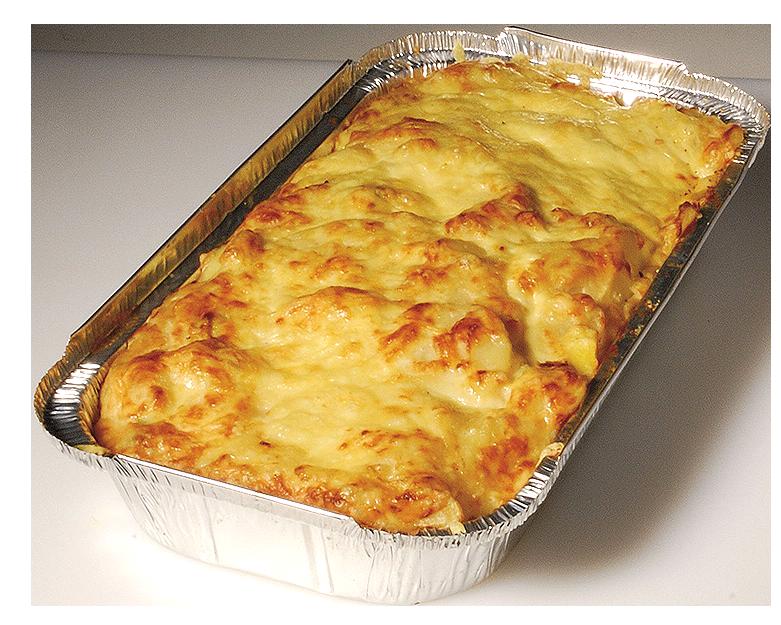 Kartoffelgratin-Schale 0015
