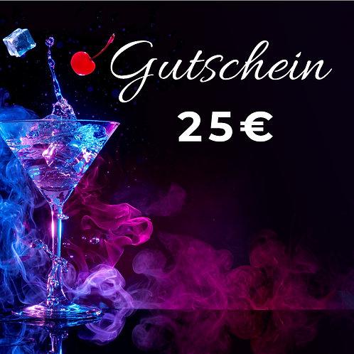 25€ Omega Gutschein