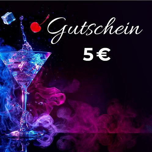5€ Omega Gutschein