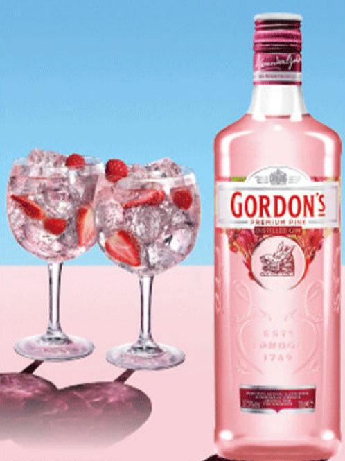 Gordons Pink Gin 0,7l inkl. Mischgetränke