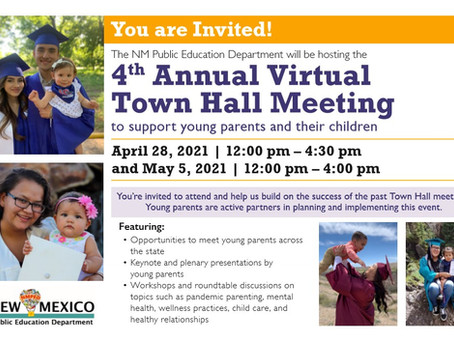 Town Hall Meeting to Support Young Parents and their Children!!