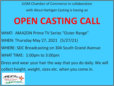 OPEN CASTING CALL!!! More to come within next 2 weeks!