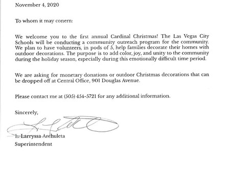Christmas is Coming to Las Vegas City Schools!!!