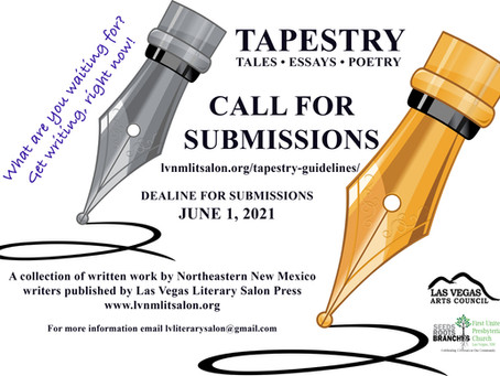 Are you a WRITER? Call for Submissions!