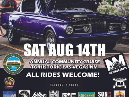 NM Cruise 2021 in Las Vegas NM!