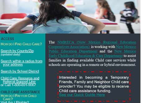 Need Child Care? Here's some great info!