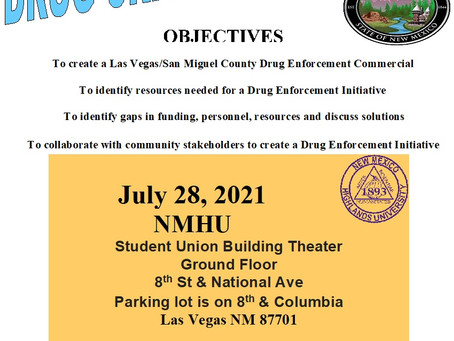 Drug Crisis Round Table on July 28th!