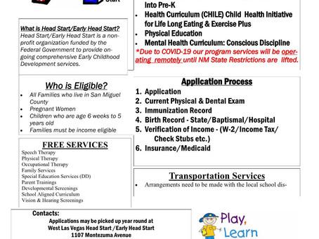 Need information on WLV Head Start & Early Head Start Programs? Here ya go!