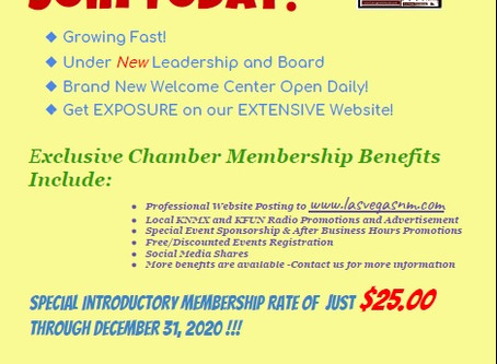 Benefits of becoming a LVSM Chamber Member: