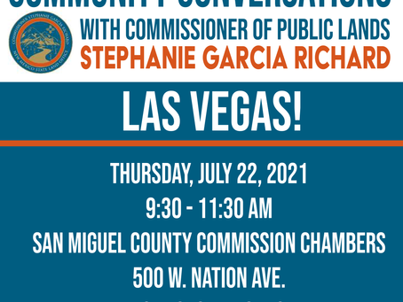 Get Involved! Thursday @ SM County Commission Chambers!