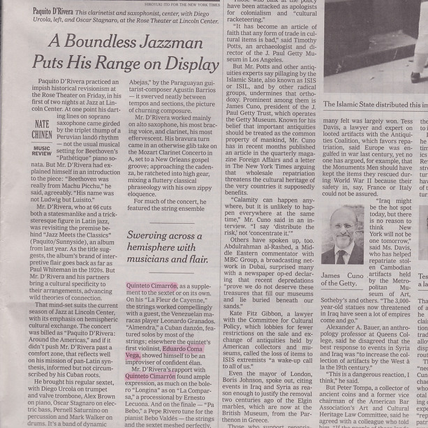 Crítica del NYT