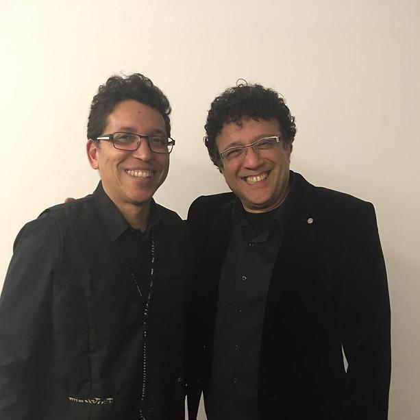 Con Pepe Rivero