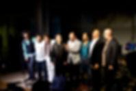 Con Ivan Ruiz, Georvis Pico, Pepe Rivero, Lazarito, Yuvisney, Luis y Bobby Martínez.