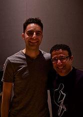 Con Alex Brown, pianista