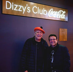 Con Paquito D´Rivera, New York