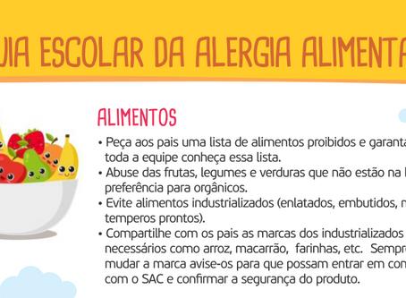 Guia Escolar para Alergia Alimentar