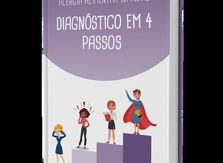 E-book - Alergia Alimentar Infantil - Diagnóstico em 4 Passos