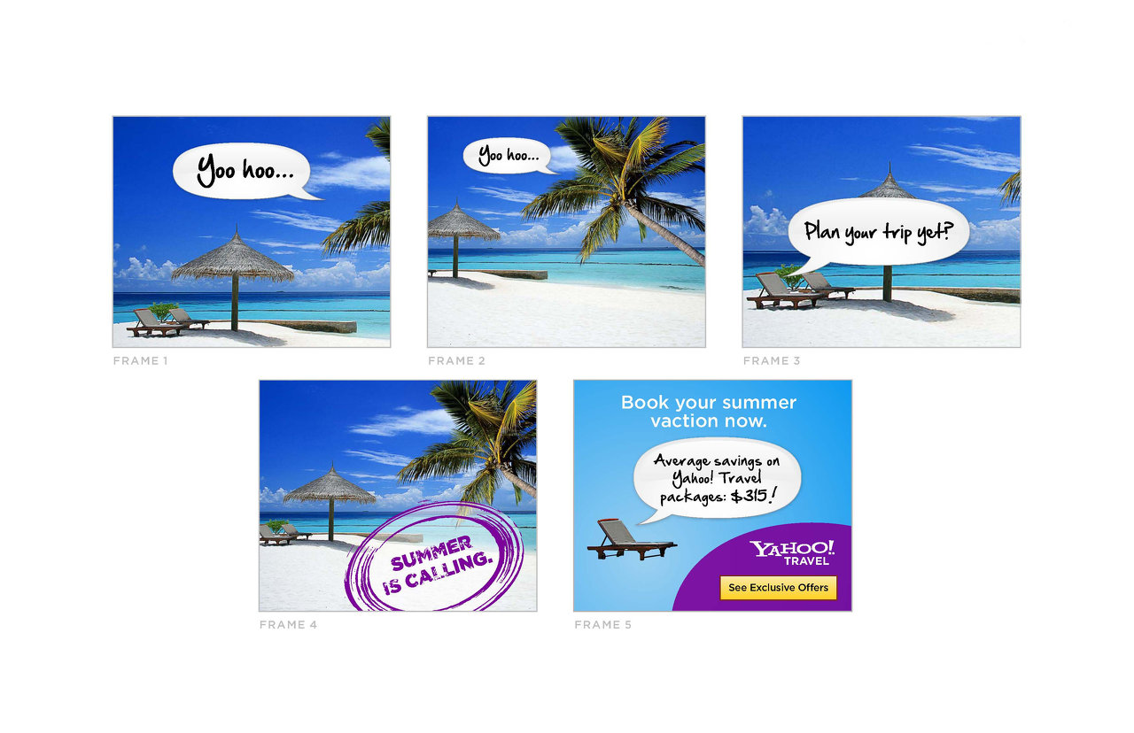 Yahoo! Travel Banner
