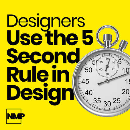 Designers Use the 5 Second Rule for Idea Generation