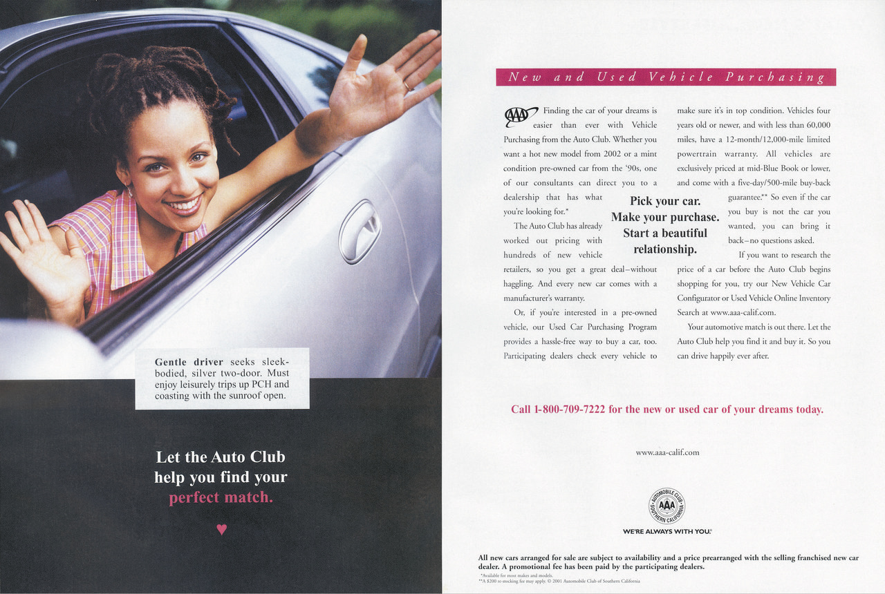 Auto Club Car Purchase Program